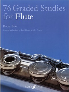 76 Graded Studies For Flute - Book Two Books | Flute