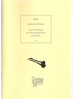 Antonio D'Amato: Aria Books | Alto Saxophone, Clarinet, Piano Accompaniment