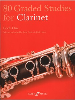 80 Graded Studies For Clarinet Book One Books | Clarinet