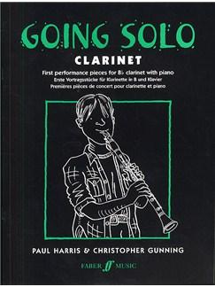 Going Solo Clarinet Books | Clarinet, Piano Accompaniment