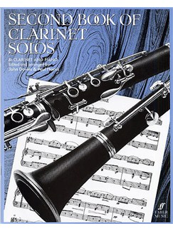 Second Book Of Clarinet Solos Books | Clarinet, Piano Accompaniment