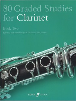 80 Graded Studies For Clarinet Book Two Books | Clarinet