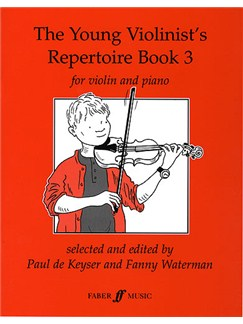 The Young Violinist's Repertoire Book 3 Bog | Violin, Klaverakkompagnement