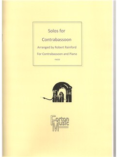 Robert Rainford: Solos for Contrabassoon Books | Contrabassoon, Piano Accompaniment