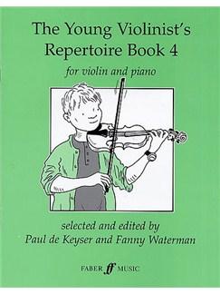 The Young Violinist's Repertoire Book 4 Books | Violin, Piano Accompaniment