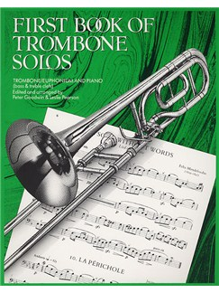 First Book Of Trombone Solos Books | Trombone, Euphonium, Piano Accompaniment