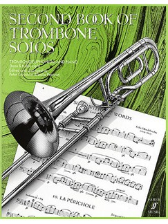 Second Book Of Trombone Solos Books | Trombone, Piano Accompaniment
