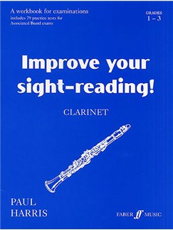 Improve Your Sight-Reading! Clarinet Grade 1-3 Books | Clarinet