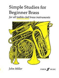 John Miller: Simple Studies For Beginner Brass Books | Brass Instruments (Including Horn and Tuba)