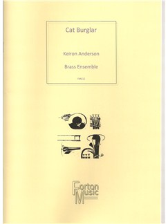 Keiron Anderson: Cat Burglar (Brass Ensemble) Books | Brass Ensemble