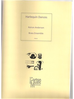 Keiron Anderson: Harlequin Dances (Brass Ensemble) Books | Brass Ensemble