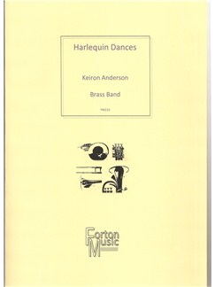 Keiron Anderson: Harlequin Dances (Brass Band) Books | Brass Band
