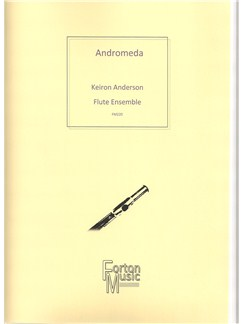 Keiron Anderson: Andromeda Books | Flute, Ensemble