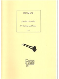 Claudio Panariello: Der Mond Books | Clarinet, Piano Accompaniment