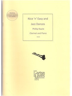 Phillip Rawle: Nice 'n' Easy and Jazz Dances Clarinet Books and CDs | Clarinet, Piano Accompaniment