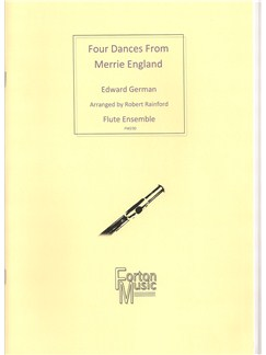 Edward German: Four Dances from Merrie England Books | Flute, Ensemble