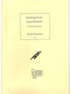 Karen Gourlay: Dazzling Duos Easy Bassoon Books | Bassoon