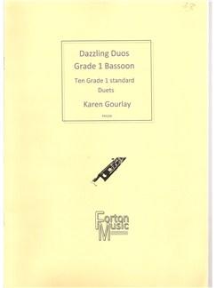 Karen Gourlay: Dazzling Duos Grade 1 Bassoon Books | Bassoon