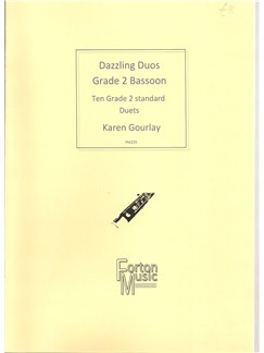 Karen Gourlay: Dazzling Duos Grade 2 Bassoon Books | Bassoon