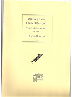 Karen Gourlay: Dazzling Duos Grade 3 Bassoon Books | Bassoon