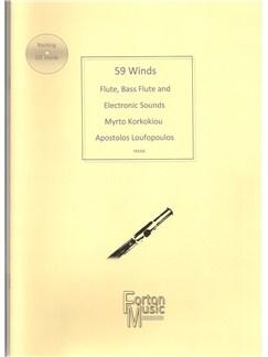 Myrto Korkokiou: 59 Winds Books | Flute, Electronics