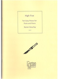 Karen Gourlay: High Five Flute Books | Flute, Piano Accompaniment