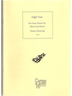Karen Gourlay: High Five Oboe Books | Oboe, Piano Accompaniment