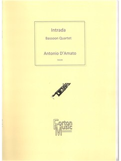 Antonio D'Amato: Intrada Bassoon Quartet Books | Bassoon, Ensemble