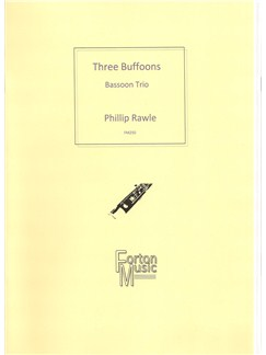 Phillip Rawle: 3 Buffoons Books | Bassoon, Trio