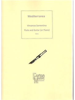 Vincenzo Sorrentino: Mediterranea Books | Flute, Guitar, Piano Accompaniment