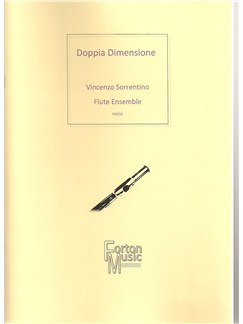 Vincenzo Sorrentino: Doppia Dimensione Books | Flute, Ensemble