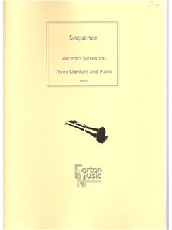 Vincenzo Sorrentino: Sequence Books | Clarinet, Piano Accompaniment, Trio