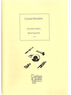 Christian Natta: Crystal Breathe Books | Wind Quintet