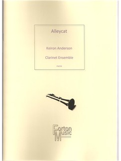 Keiron Anderson: Alleycat Books | Clarinet, Ensemble