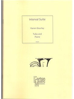 Karen Gourlay: Interval Suite Books | Tuba, Piano Accompaniment