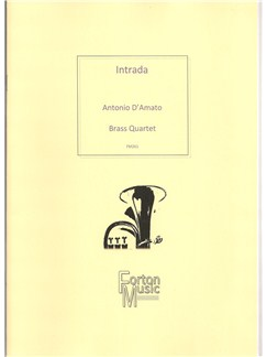 Antonio D'Amato: Intrada Tuba Quartet Books | Brass Ensemble