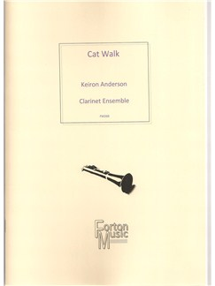 Keiron Anderson: Catwalk Books | Clarinet, Ensemble