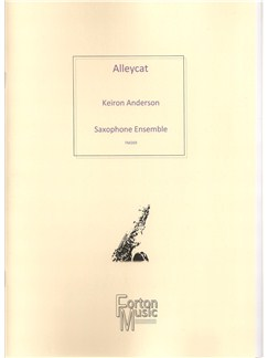 Keiron Anderson: Alleycat Books | Saxophone, Ensemble