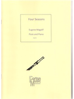 Eugene Magalif: Four Seasons Books | Flute, Piano Accompaniment