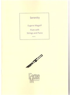 Eugene Magalif: Serenity Books | Flute, String Quartet, Piano Accompaniment
