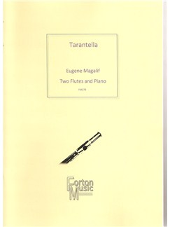 Eugene Magalif: Tarantella Books | Flute, Piano Accompaniment