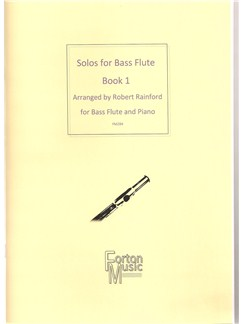 Solos for bass Flute Book 1 Books | Flute, Piano Accompaniment