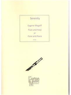Eugene Magalif: Serenity Books | Flute, Harp, Piano Accompaniment