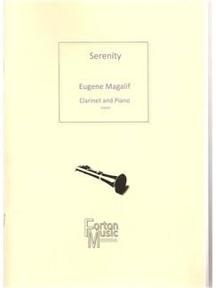 Eugene Magalif: Serenity Books | Clarinet, Piano Accompaniment