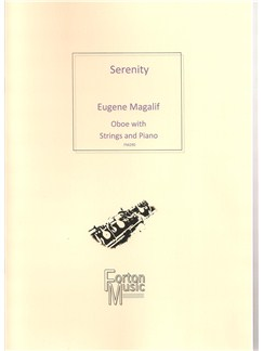 Eugene Magalif: Serenity Books | Oboe, String Quartet, Piano Accompaniment
