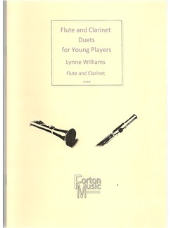 Lynne Williams: Flute And Clarinet Duets For Young Players Books | Clarinet, Flute