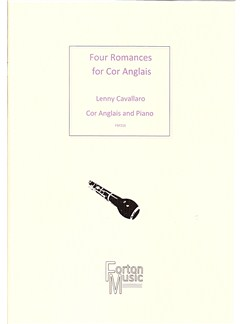 Lenny Cavallaro: Four Romances Books | Cor Anglais, Piano Accompaniment