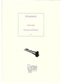 Lodi Luka: Ornamenti Books | Clarinet, Piano Accompaniment