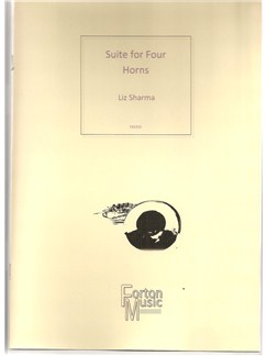 Liz Sharma: Suite for Four Horns Books | French Horn