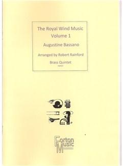 Augustine Bassano: Royal Wind Music Books | Brass Quintet